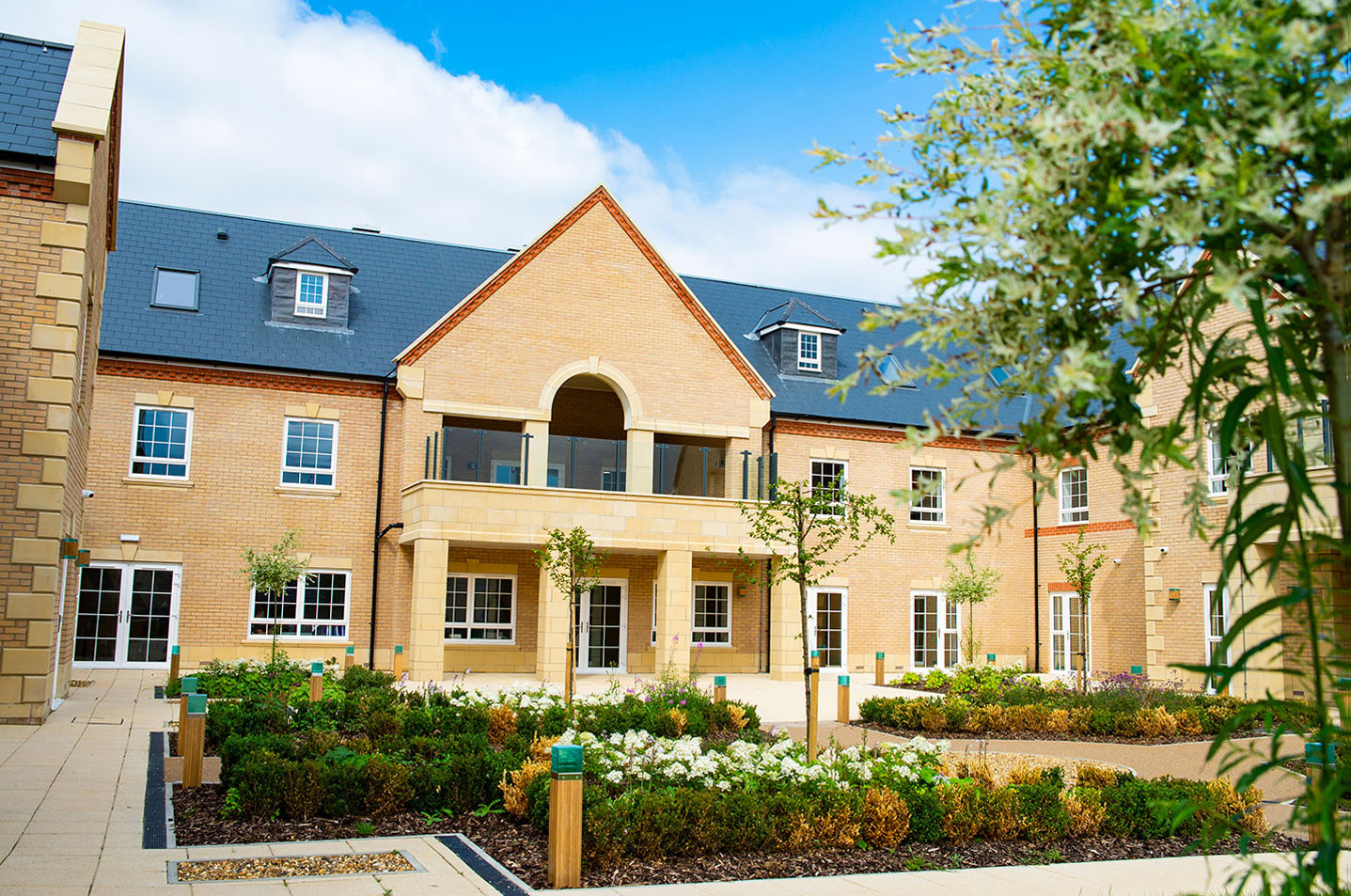 Frontier delivers outstanding healthcare facility for Baycroft at Fairfield, Bedfordshire